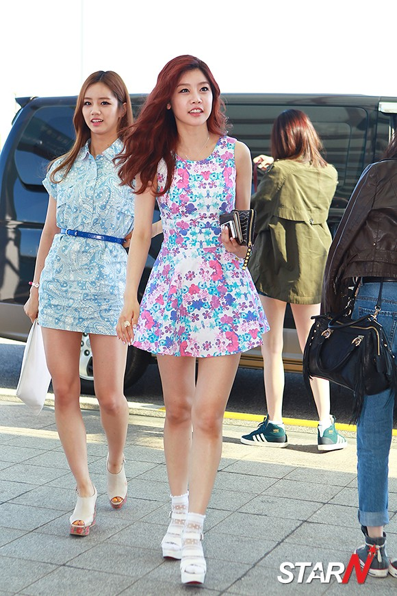 Pics 130601 Girl S Day Leaving For K Pop Festival In Kumamoto Airport Fashion Girl 39 S Day Daily